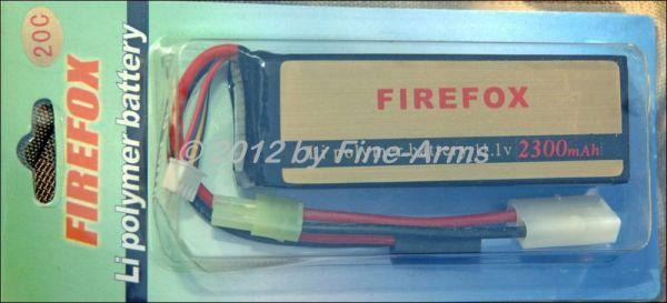 FireFox LiPo Akku 11.1V 2300mAh