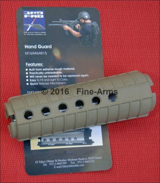 Polymer Handschutz tan für Systema PTW M4 / CQBR