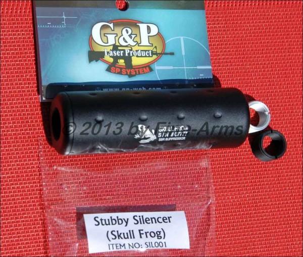 G&P Metall Silencer Skull Frog