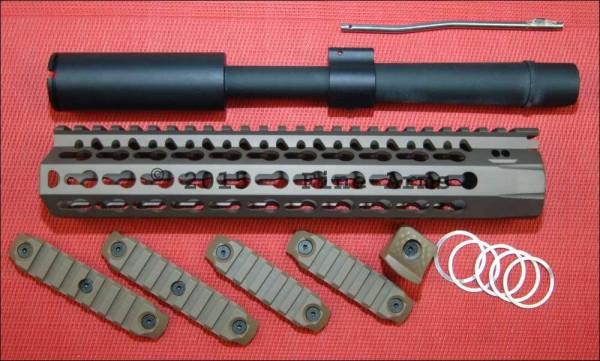 DYTAC 10inch SBR BRAVO Conversion Kit TAN für Systema PTW