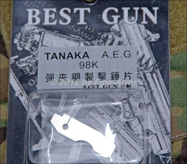 Best Gun 98 K Tanaka Magazin Impact Platte