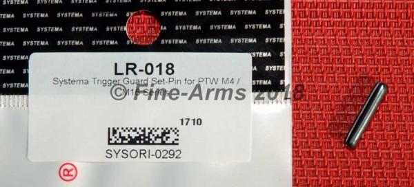 Systema PTW Trigger Guard Set-Pin