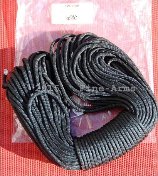 TMC 30m Nylon Paracord schwarz