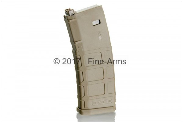Magpul PTS PMAG Magazin in Tan für Systema PTW
