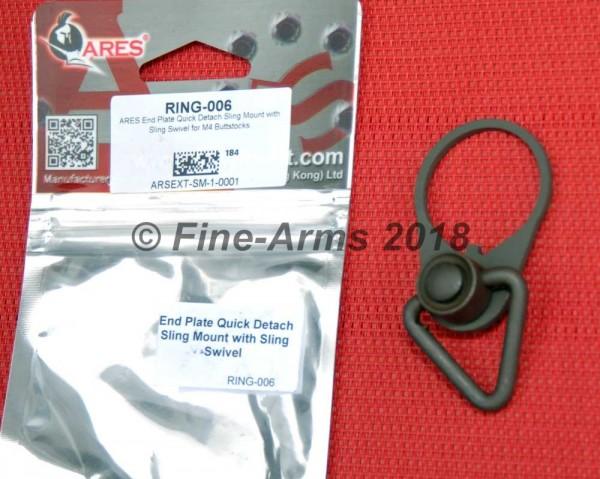 Ares QD Sling Platte mit Ring für PTW