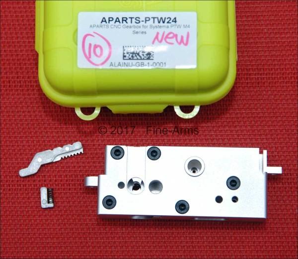 Alpha Parts PTW CNC Gear Box