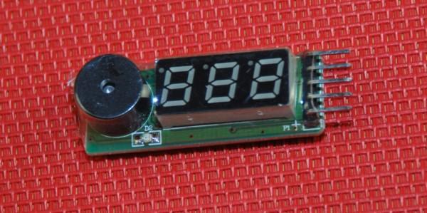 IPower Lipo Akku Volt Monitor Alarm Summer