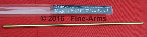 Orga Airsoft Innenlauf Wide Bore 6.23mm für Systema PTW M16 (509mm)