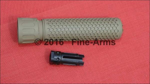 Knight's Armament 556 QDC CW Schalli tan