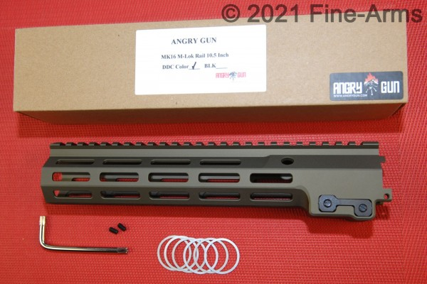 MK16 M-Lok 10.5 inch Rail Gen2 DDC Tan