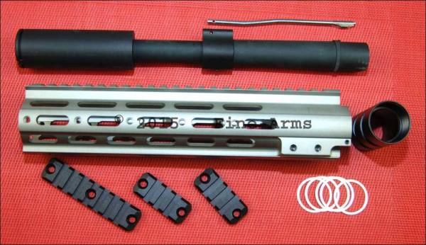 DYTAC SMR MK1 10inch SBR Conversion Kit Grau für Systema PTW