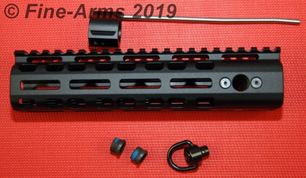 Griffin Armament Low Pro Rigid Rail 8.6 inch schwarz