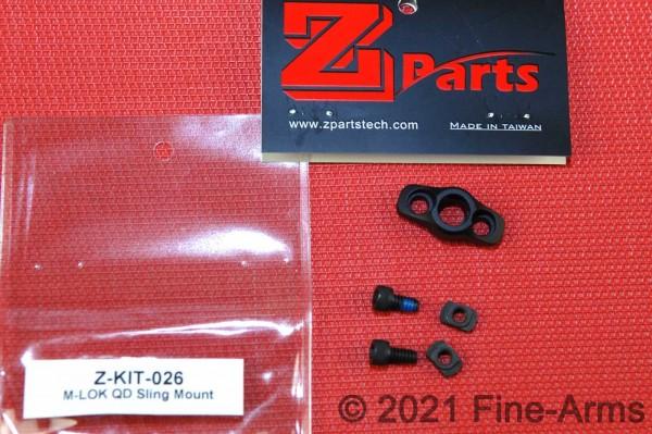 Z-Parts CNC M-LOK QD Sling Mount