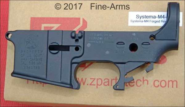 Z-Parts PTW CNC Lower Receiver