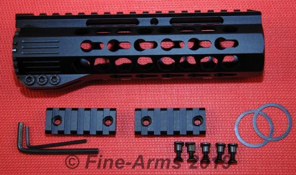 Key Mod Free Float Rail 7 inch schwarz