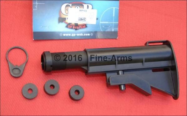 G&P WA M4A1 Stock (Black) VN Style