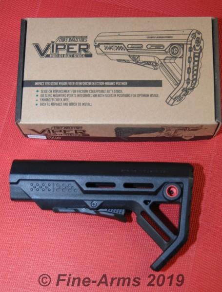 Strike Industries Mil Spec Schulterstütze Viper Mod 1