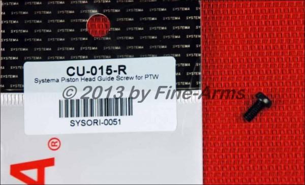 Systema PTW Piston Head Guide Screw CU-015-R