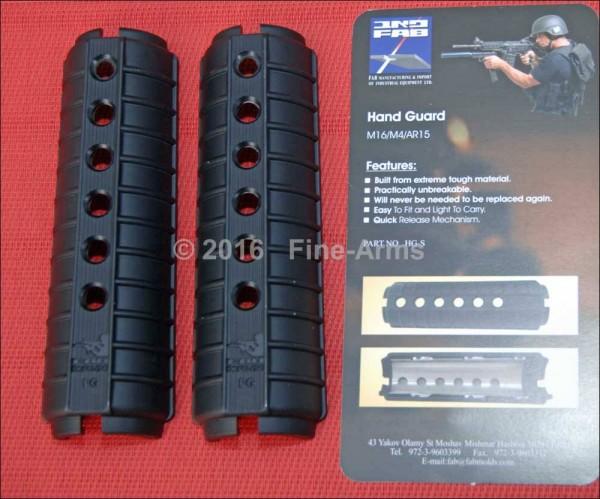 Polymer Handschutz schwarz für Systema PTW M4 / CQBR