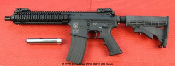 Systema PTW CQBR MAX MK18 schwarz First Variant
