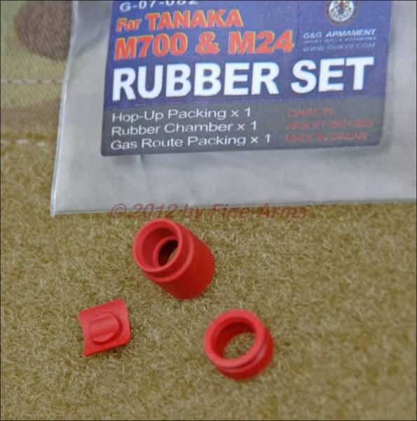 G&G Gummi Set für Tanaka M700 M24