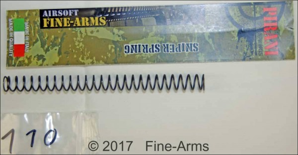 Fine-Arms Pirani PTW Zylinder Feder M110