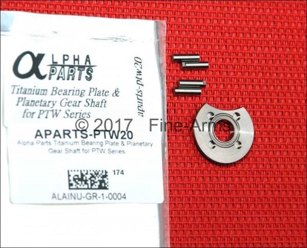 Alpha Parts PTW Titanium Bearing Plate Set