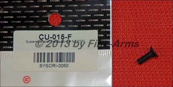 Systema PTW Piston Head Screw CU-015-F