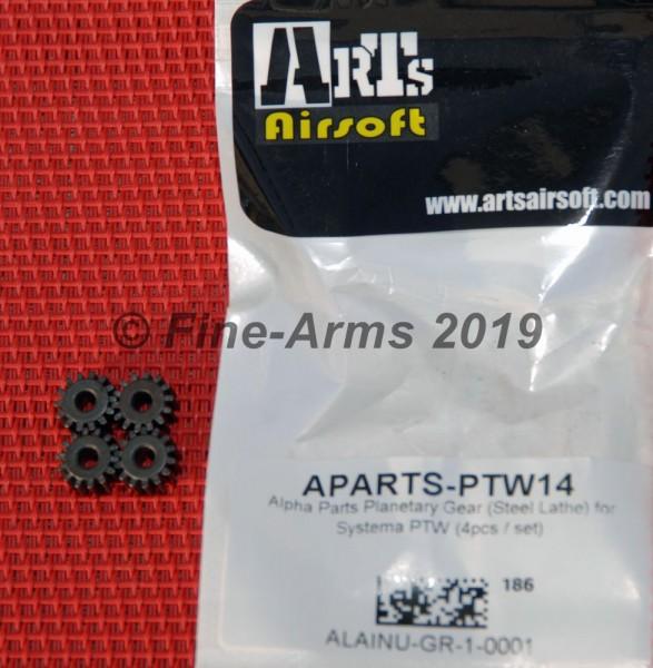 Alpha Parts PTW Planeten Stahl Zahnrad Set
