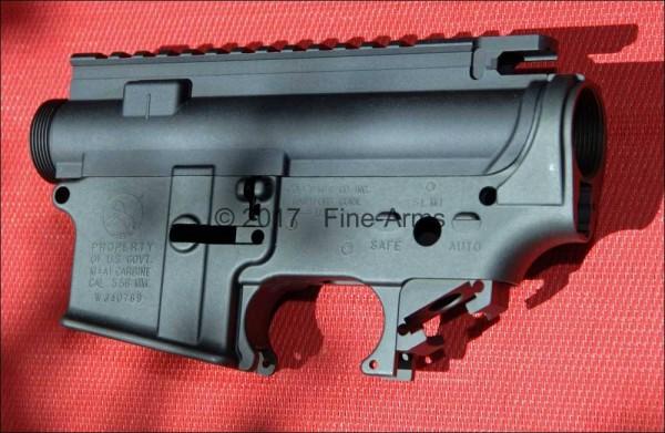 Z-Parts PTW CNC Receiver Set Colt-Style