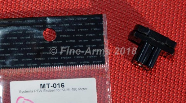 Systema PTW Kumi 490 Motor Base Endbell
