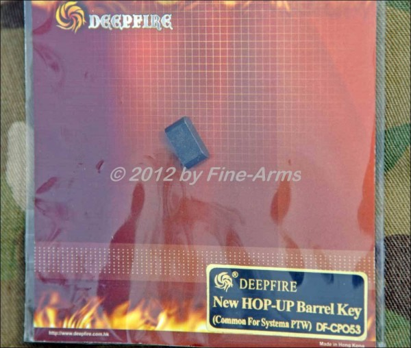 Deep Fire PTW Hopup Stahl Verschluss