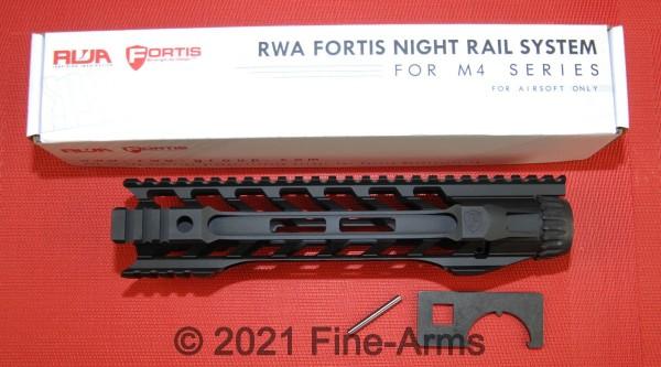 Fortis RWA Night Rail 10 inch M-Lok schwarz