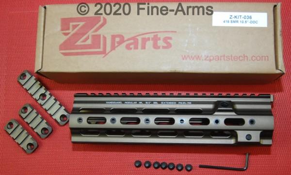 SMR 416-Style 10.5 inch Rail DDC Tan ZParts