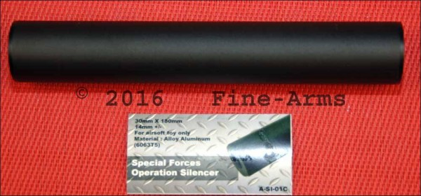 Action 180mm Special Forces Operations Silencer