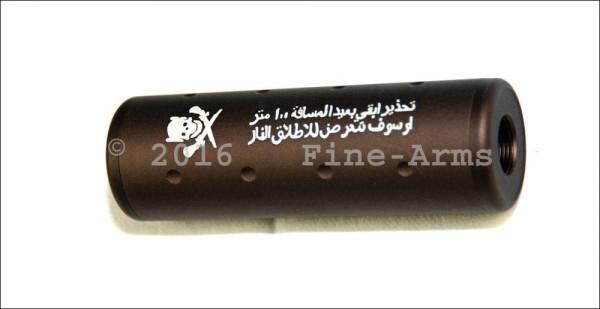 ACM 100mm Silencer Schalli 14mm CW+CCW FDE